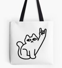 Cats Like Metal Tote Bag