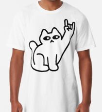 Cats Like Metal Long T-Shirt