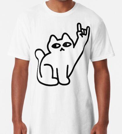 Cats Like Metal Long T-Shirt
