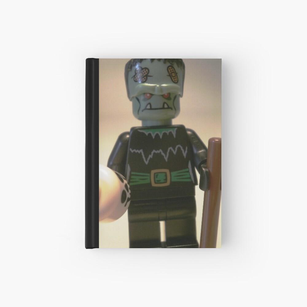 Frankensteins Monster Custom Minifigure with Skull Notizbuch