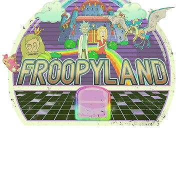 Rick and Morty - Froopyland! by Shiertdork