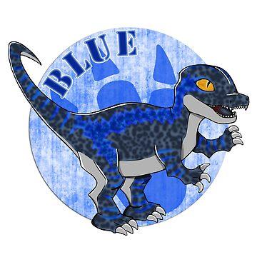 Jurassic Blue by Rhaenys