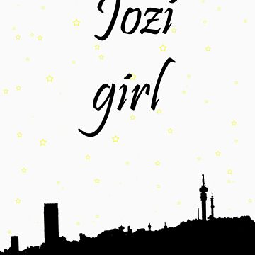 Jozi girl, stars over the city by Sprinkly