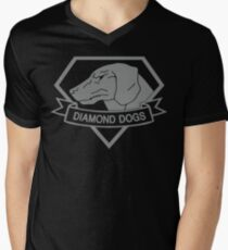 Metal Gear Solid - Diamond Dogs (Gray) Men's V-Neck T-Shirt