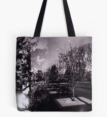 Bloom trees in Carlton Tote Bag