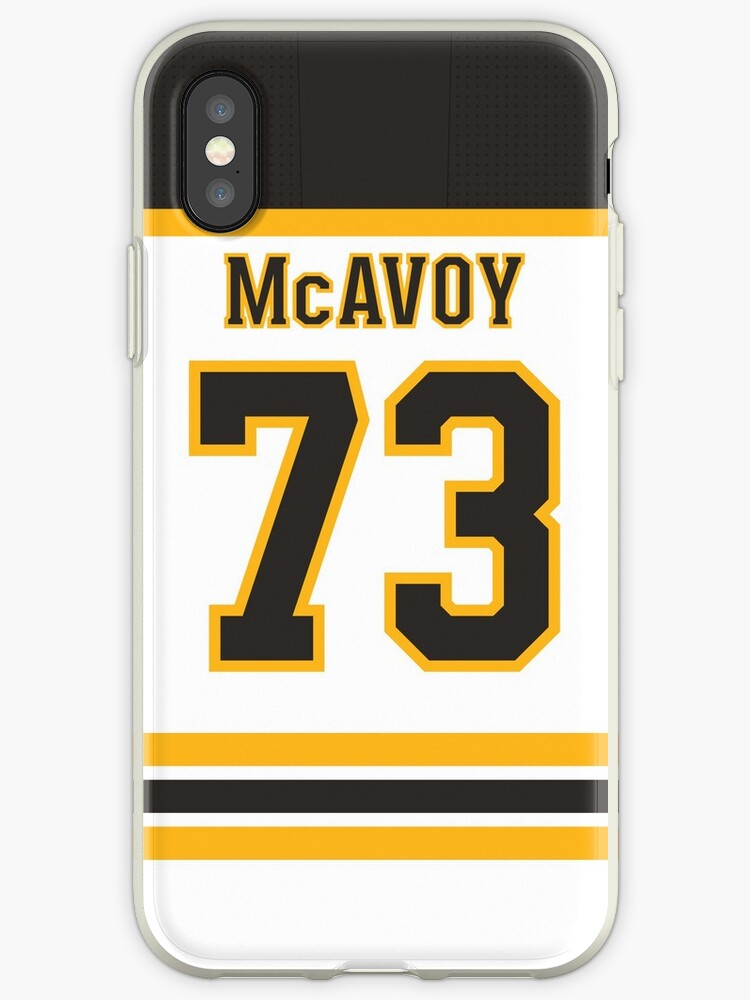 separation shoes 7478f ede98 'Boston Bruins Charlie McAvoy Away Jersey Back Phone Case' iPhone Case by  IAmAlexaJericho