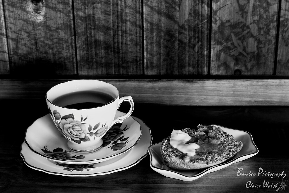 Banana Bread and Tea by Claire Walsh