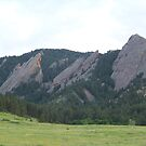 The Flatirons by Forget-me-not