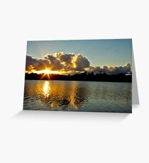 Tweed River from Fingal Greeting Card