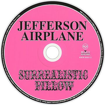 Jefferson Airplane - Surrealistic Pillow: by Inmigrant