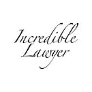 Incredible lawyer in black by jazzydevil