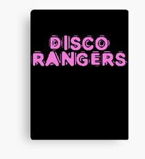 Disco Rangers by Chillee Wilson Canvas Print