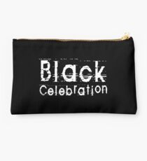 Black Celebration by Chillee Wilson Studio Pouch