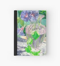 Rescued vase on distressed chair Hardcover Journal