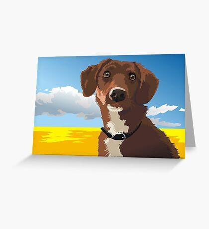Räuber Greeting Card
