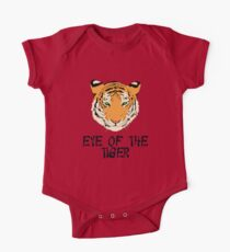 Eye of the Tiger by Chillee Wilson One Piece - Short Sleeve