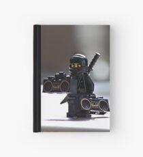 The Black Ninja Hardcover Journal