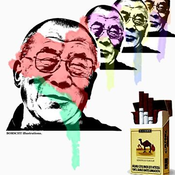 dalai lama by borscht
