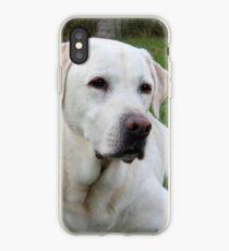 Gelber Labrador Retriever iPhone-Hülle & Cover