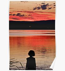 Sunset Stare Poster