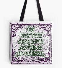 A memorable event Tote Bag