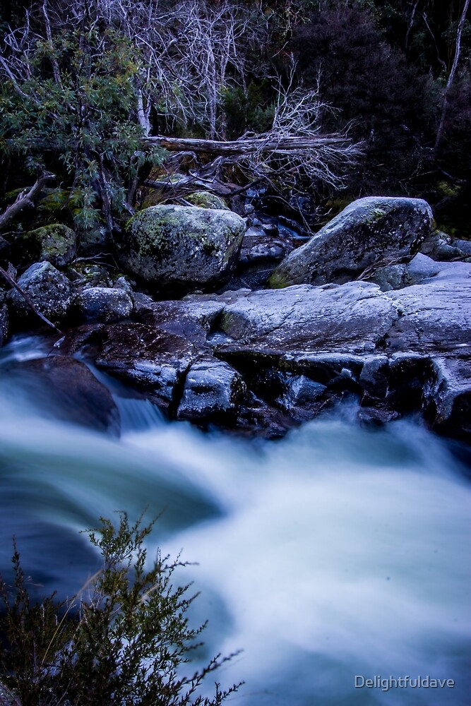 Thredbo river by Delightfuldave
