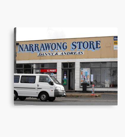 Narrawong Store Canvas Print