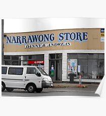 Narrawong Store Poster