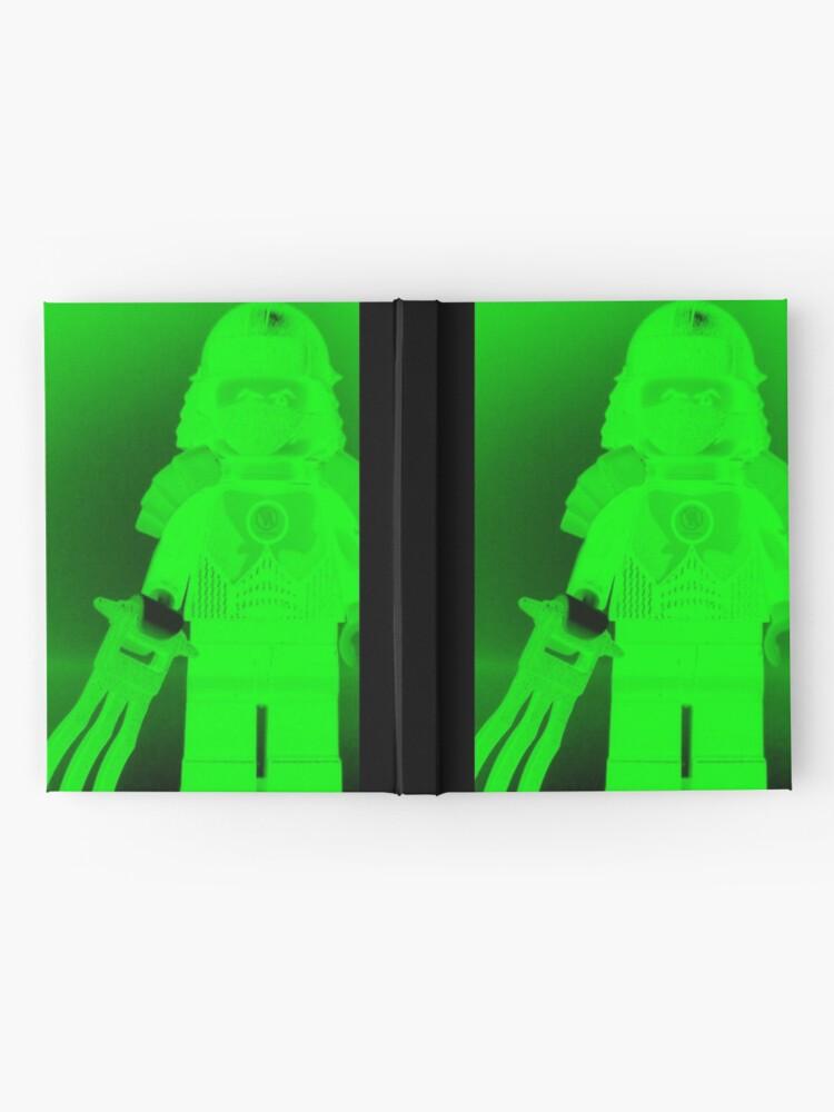 Alternative Ansicht von TMNT Teenage Mutant Ninja Turtles Master Shredder Custom Minifigure Customize My Minifig Notizbuch