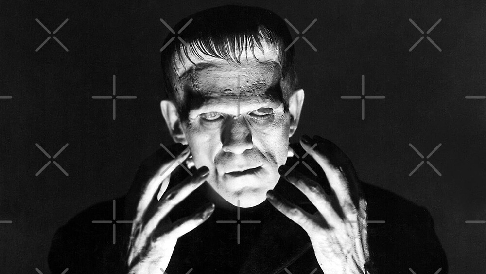 Karloff als Frankenstein von Star-search