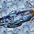 P-51 Mustang by Andrea Mazzocchetti