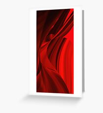 I see red.......3 Greeting Card