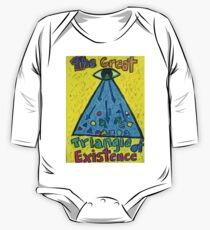 The Great Triangle of Existence One Piece - Long Sleeve