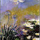 Monet - Agapanthus, 1914-17 by virginia50