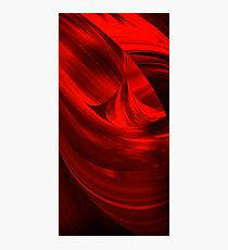 I see red....... Photographic Print