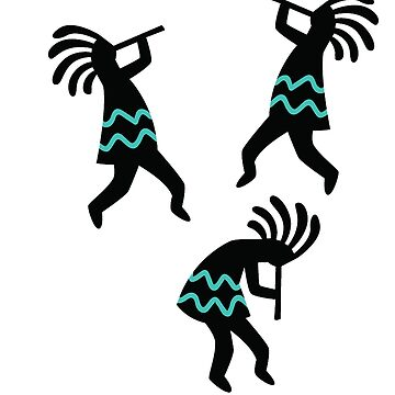 Three Aztec Dancers by procrest