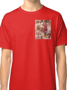 Butterfly on Blossom Watercolour Classic T-Shirt
