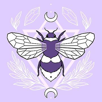 Bee Queen // Pastel by nikury