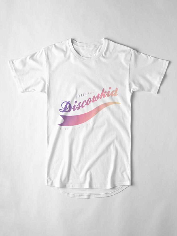 T-shirt long ''DISCOWKID - B': autre vue