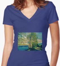 A Midsummer Night's Dream.         Magical Scandinavia.     Doctor Faustus.                 Women's Fitted V-Neck T-Shirt
