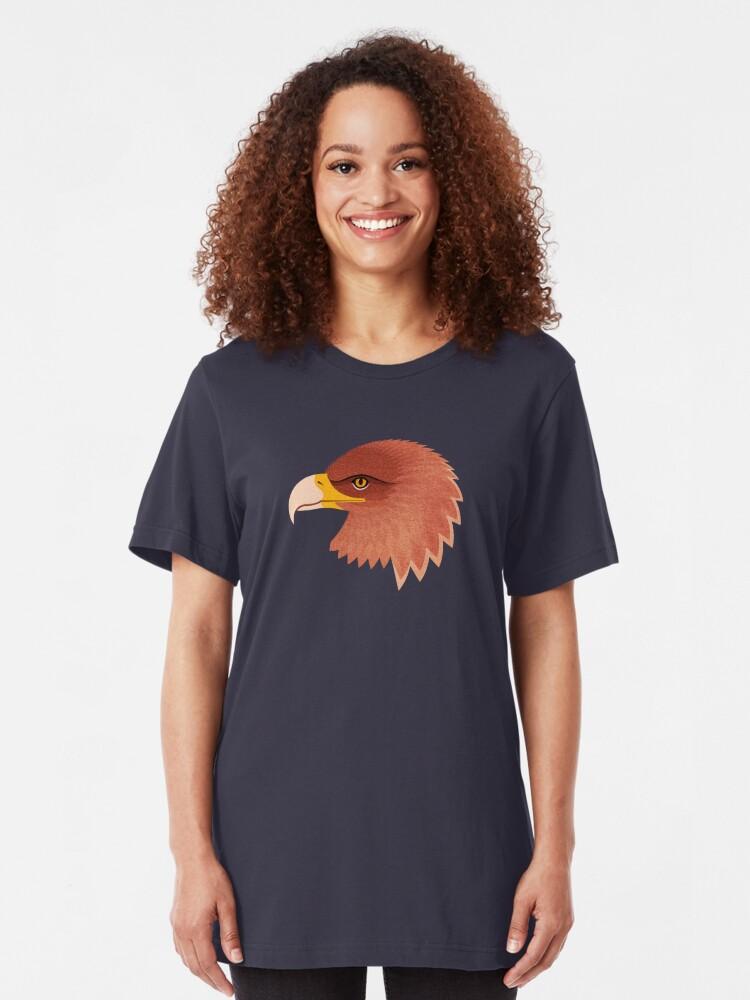 Alternative Ansicht von FAUNA / Steinadler Slim Fit T-Shirt