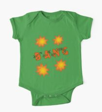 Bang by Chillee Wilson One Piece - Short Sleeve