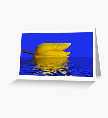 Going Under Greeting Card