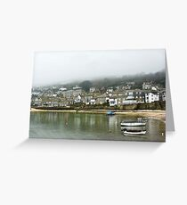 Mousehole in the Mist Greeting Card