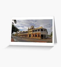 Historic Queens Hotel - The Strand Townsville Greeting Card