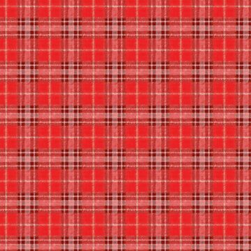 Scottish tablecloth pattern by TOMSREDBUBBLE