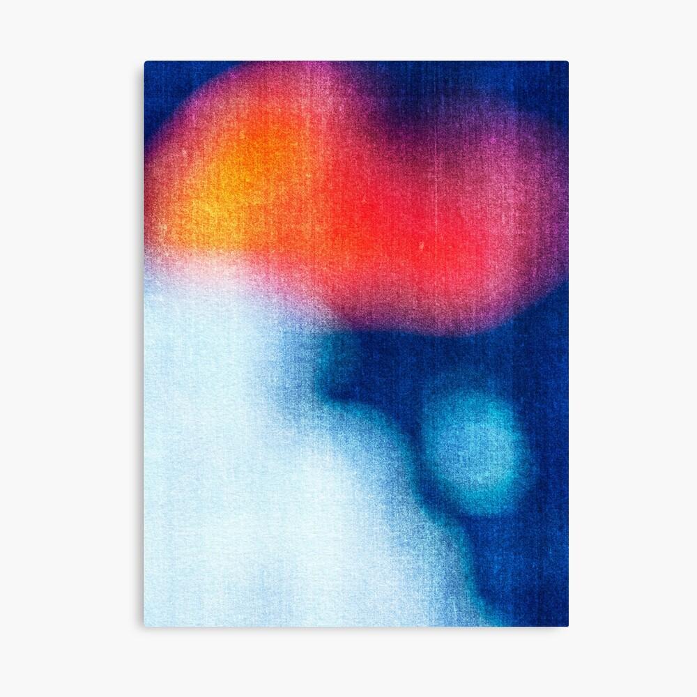 BLUR / Burning Ice Canvas Print