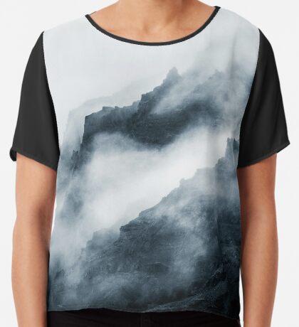 Montañas de niebla Blusa