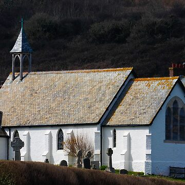 St Peters Church , Coverack by SWEEPER