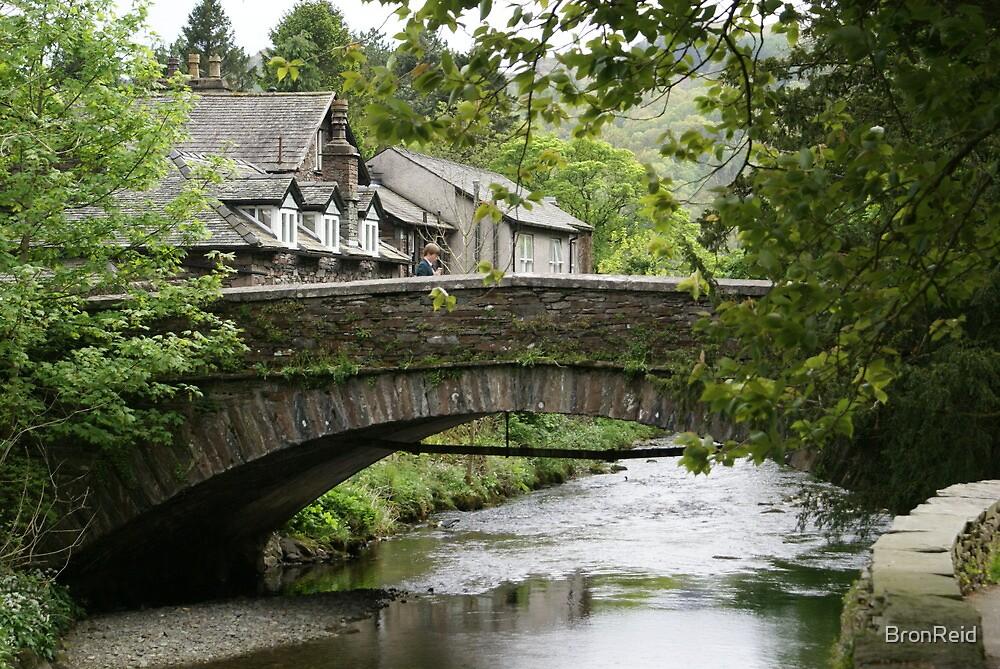 Grasmere, bridge over River Rothay by BronReid